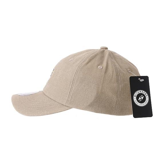 10d432d4b3a WITHMOONS Baseball Cap Shiba Inu Dog Flower Mellange Cotton Hat AL1896 ( Beige)  Amazon.co.uk  Clothing