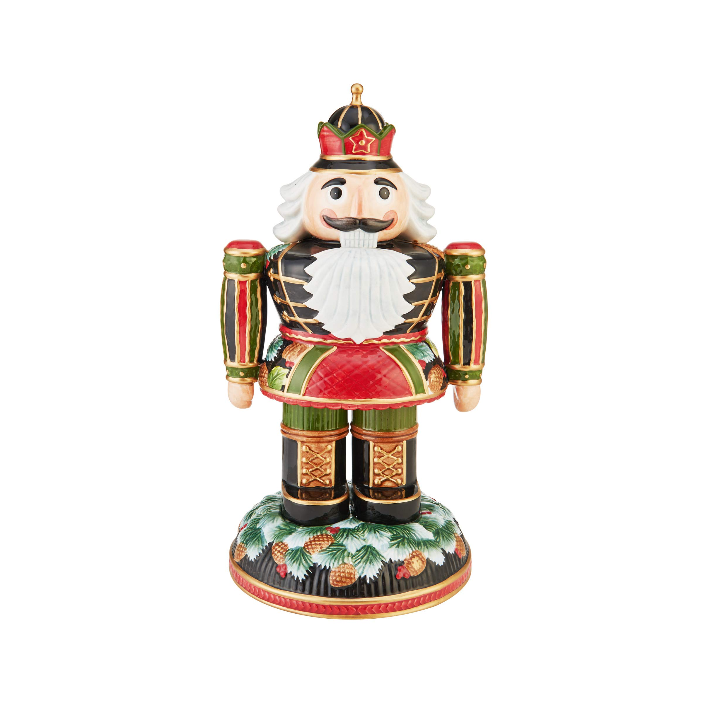 Fitz and Floyd Holiday Nutcracker Assorted