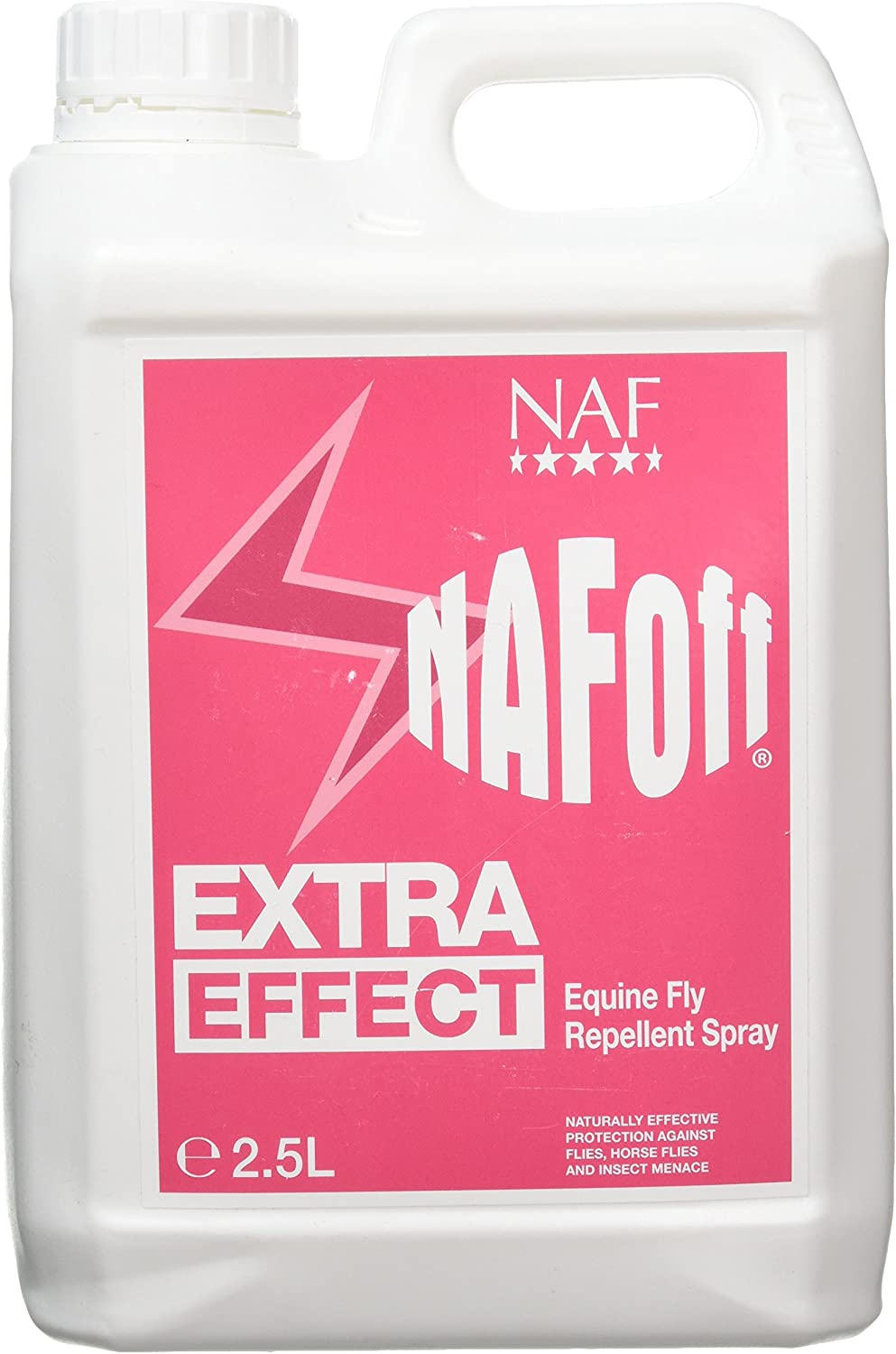 Natural Animal Feeds Naf Off Extra Effect - Spray repelente de moscas para caballos