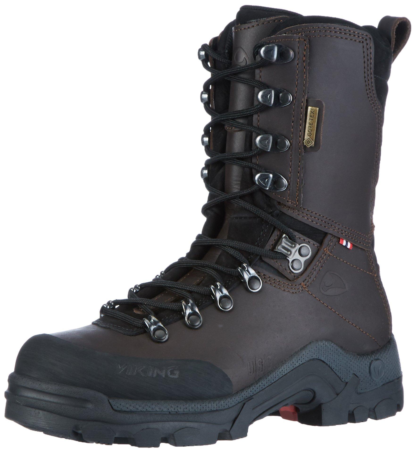 Viking Unisex Adults' Hunter GTX Hunting Shoes, Brown (Dark Brown 18), 9 UK