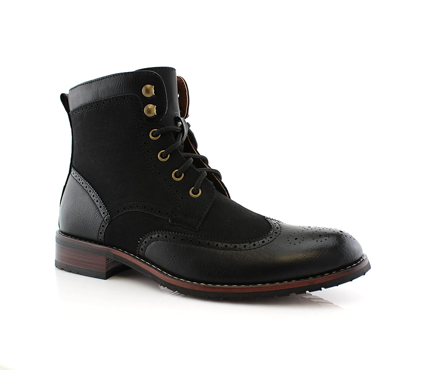 Steampunk Boots and Shoes for Men Polar Fox JONAH MPX808567 $37.99 AT vintagedancer.com
