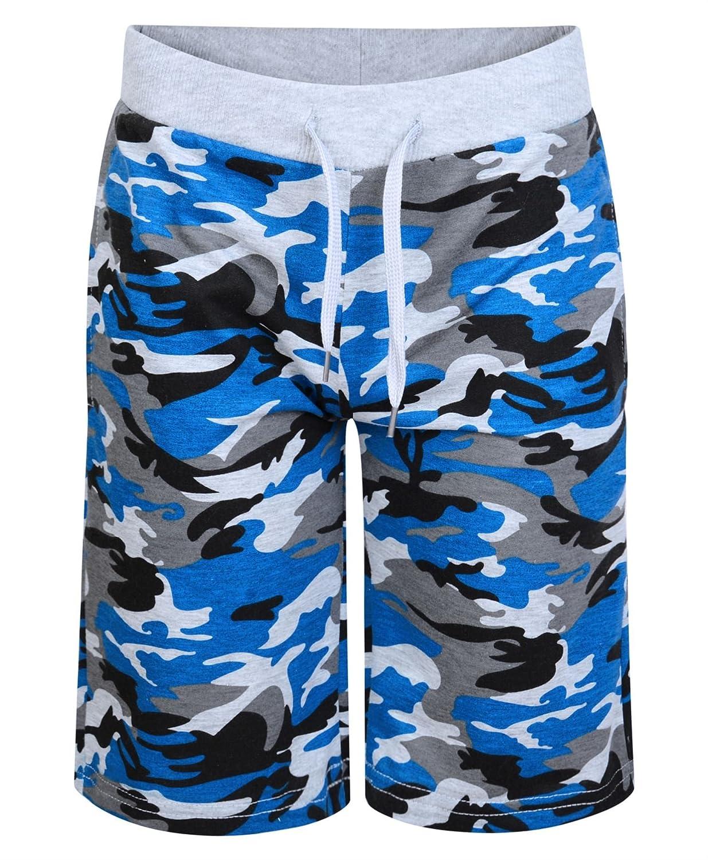 LotMart Boys Jersey Shorts Camouflage Print