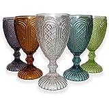 Innhome Set de copas elegantes para vino tinto, ideal para eventos, ocasiones especiales, uso personal o regalo. Juego de 4 c