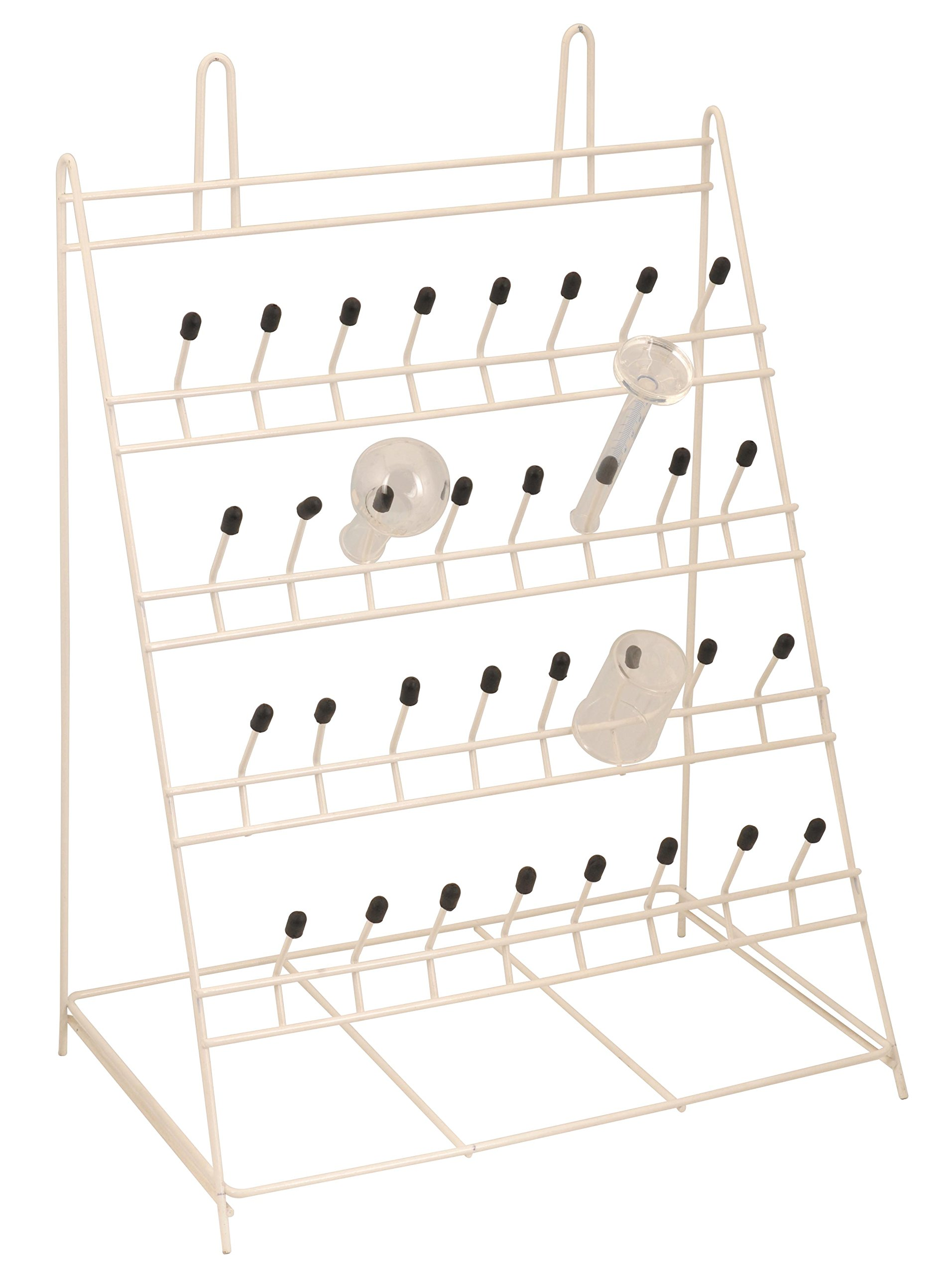 Draining Rack - Metal - 32 Pegs