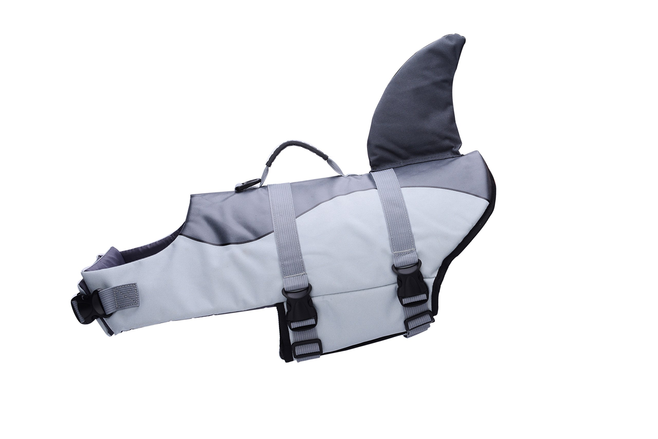 BFLIfe Dog Life Jacket Small Shark Pet Swimming Vest for Dogs by BFLIfe (Image #4)