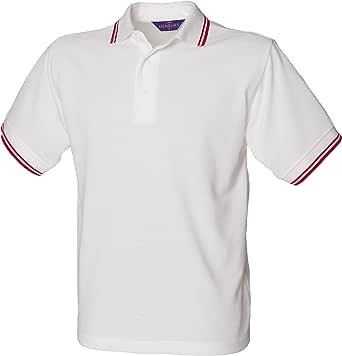 Henbury Kids Unisex 65/35 Contrast Tipped Polo Shirt