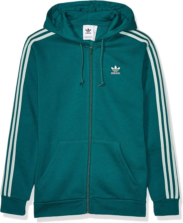Edles Grün Dampfgrün XL adidas Originals Herren Jacke