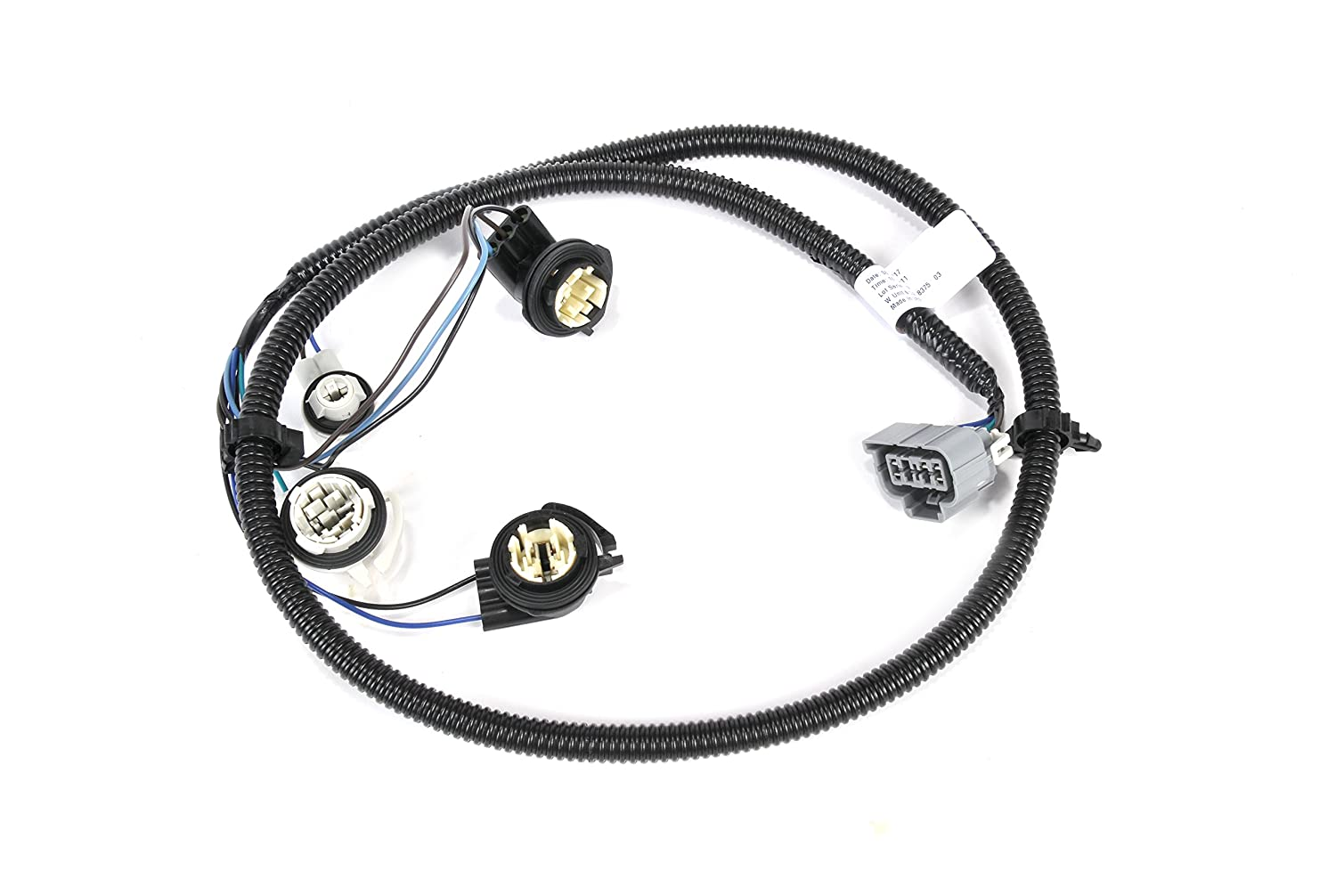 ACDelco 16531401 GM Original Equipment Driver Side Tail Light Wiring Harness
