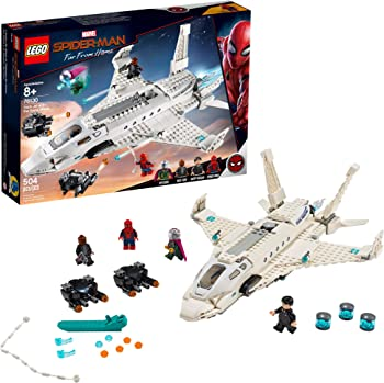 LEGO Marvel Spider-Man Stark Jet and the Drone Attack (504 Piece)