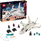 LEGO Marvel Spider-Man Far From Home: Stark Jet and the Drone Attack 76130 Building Kit, New 2019 (504 Piece)