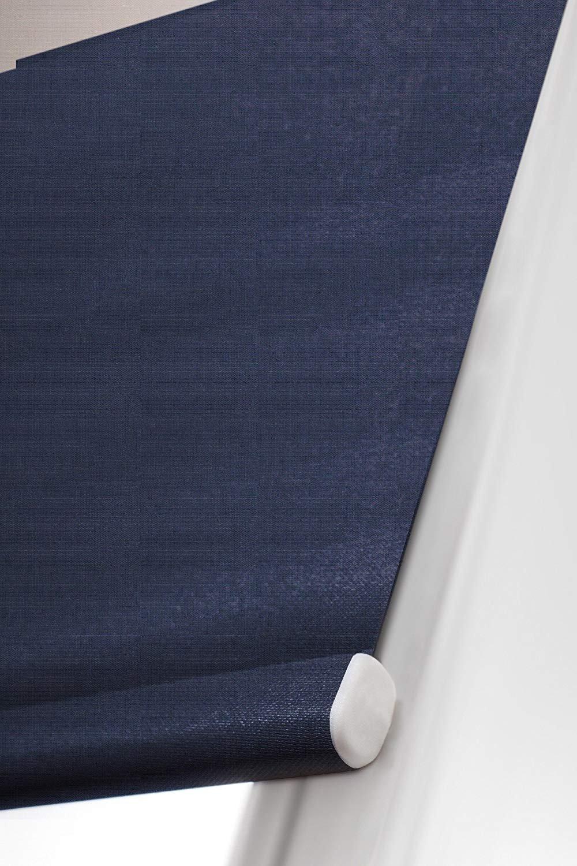 Verdunkelungsrollo nach nach nach Maß, blickdicht, hochqualitative Wertarbeit, alle Größen und 21 Farben verfügbar, Rollo nach Maß, für Fenster und Türen, Klemmfix ohne Bohren (250cm Höhe x 120cm Breite   Weiß) B07JW 7d61f8
