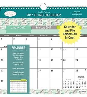 Amazon.com : Summit 2017 Calendar Pockets and More Classic America ...