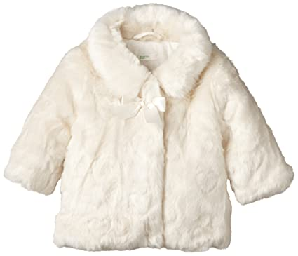 0ba04673a United Colors of Benetton Baby-Girls Fur Coat