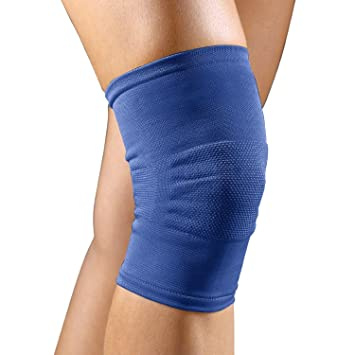 9c4340398a Image Unavailable. Image not available for. Color: FLA Orthopedics  37-4001LSTD Pro-Lite Knee Support Knitted Pullover ...