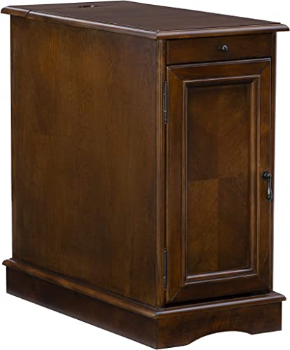 Powell Furniture Butler Accent Table, Hazelnut, Small