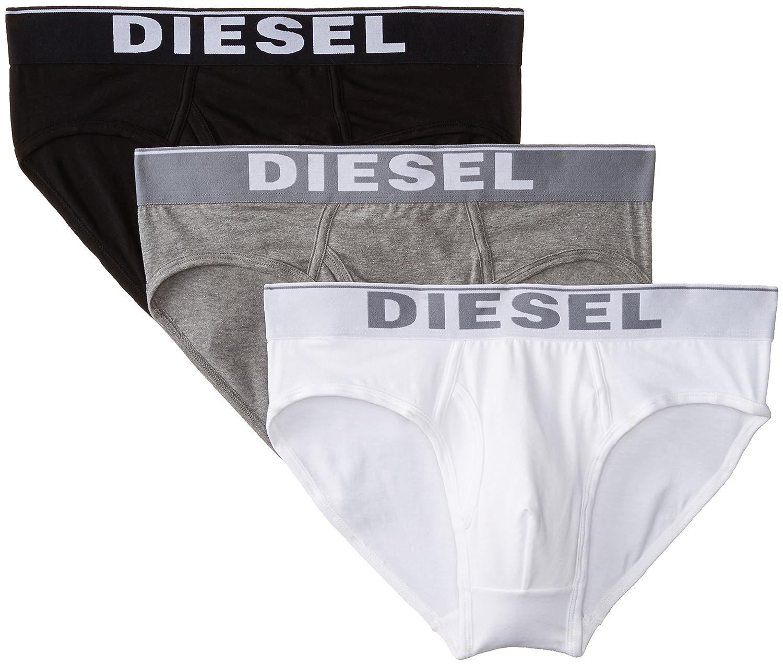 Diesel Calzoncillos para Hombre (Pack de 3): Amazon.es: Ropa y accesorios