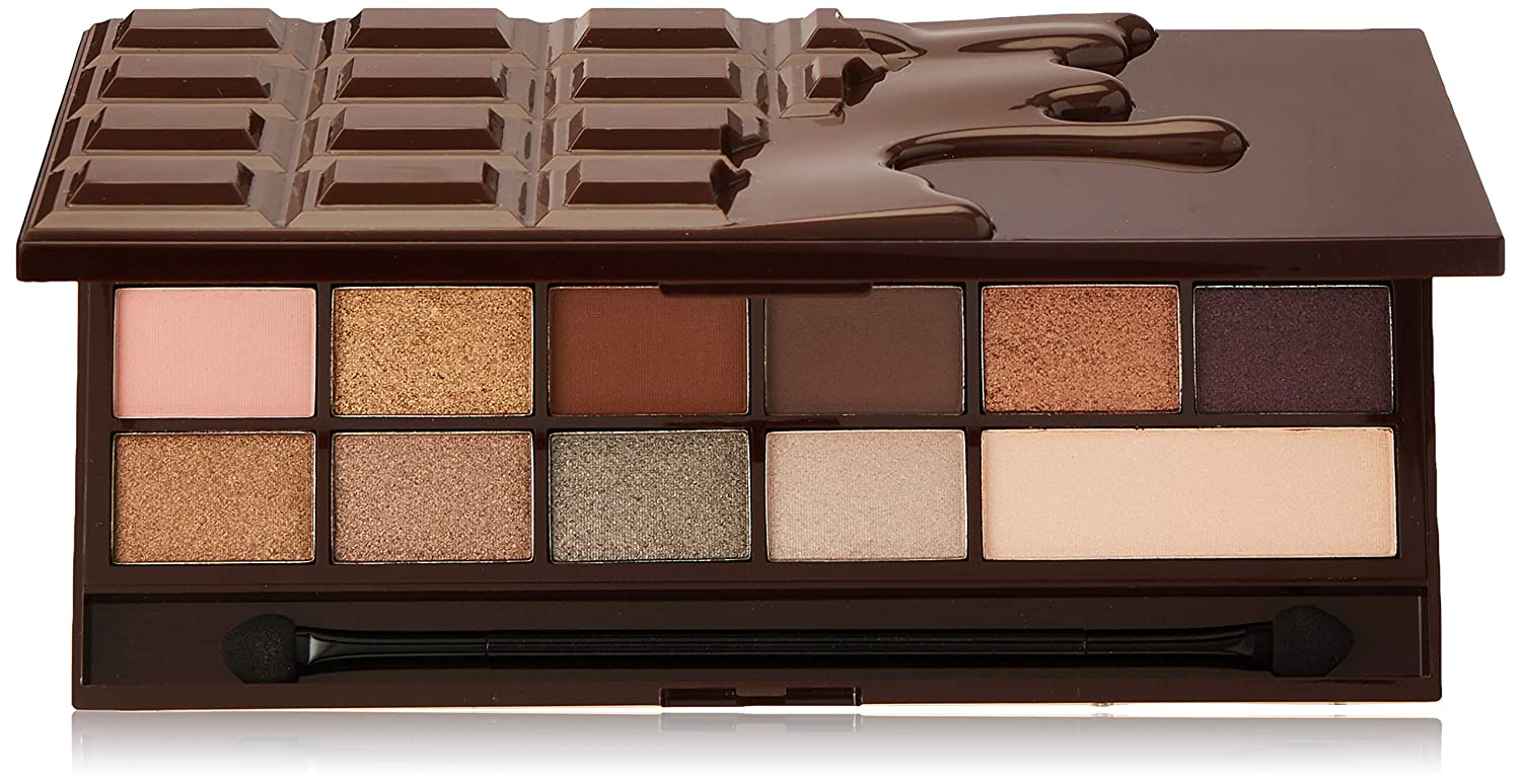 Makeup Revolution I Heart Revolution Eyeshadow Palette, Death By Chocolate