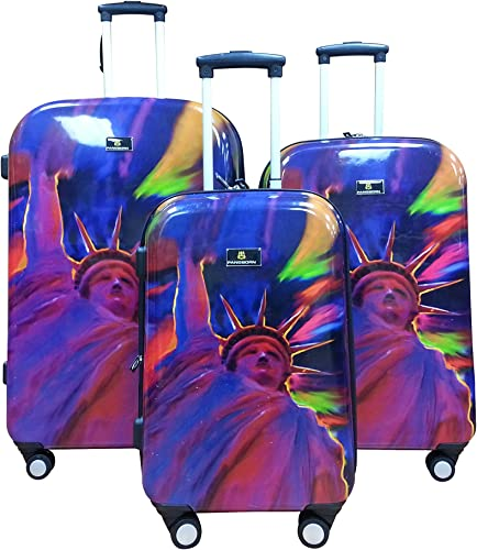 Dominick Pangborn 3 Piece Luggage Set Liberty