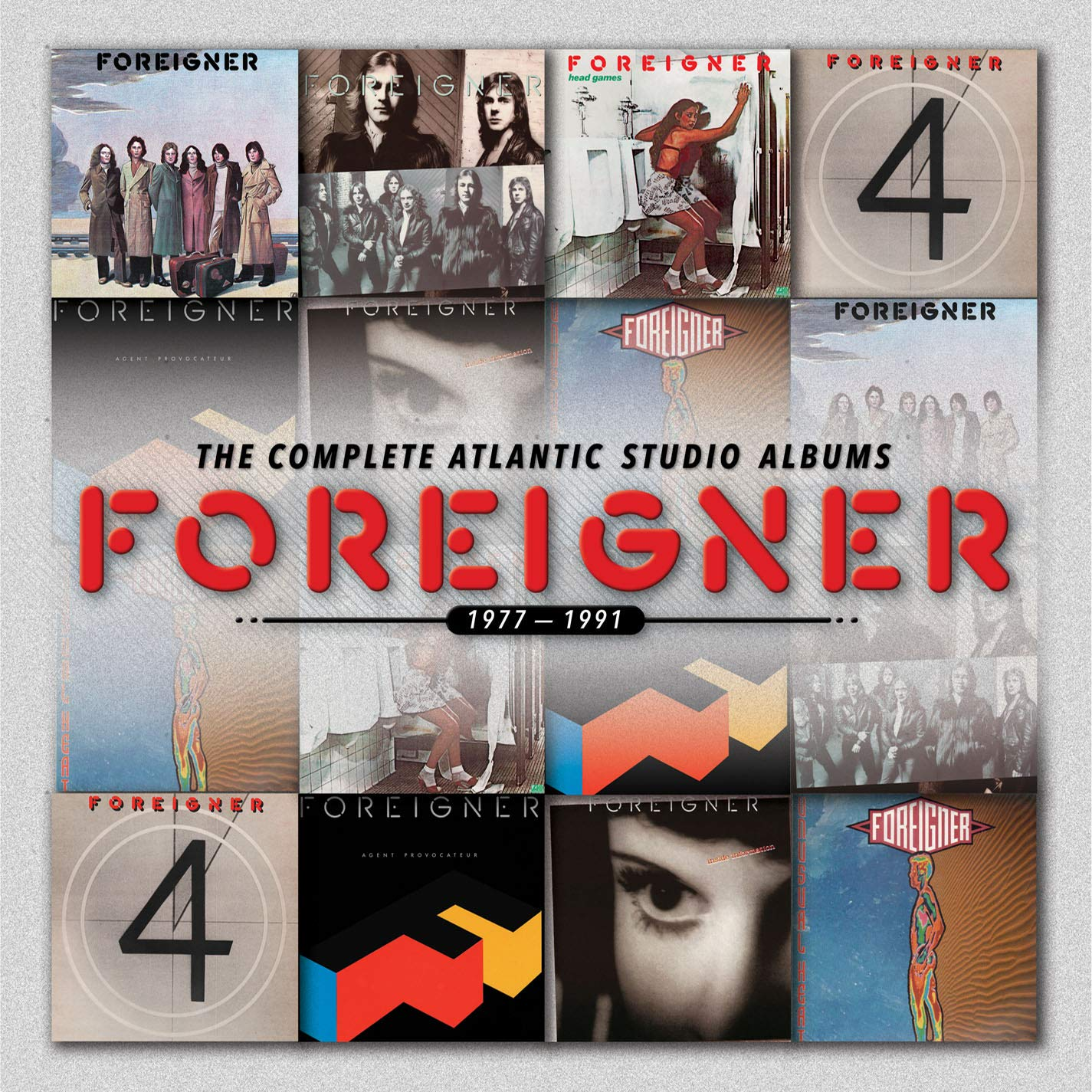 The Complete Atlantic Studio Albums 1977-1991