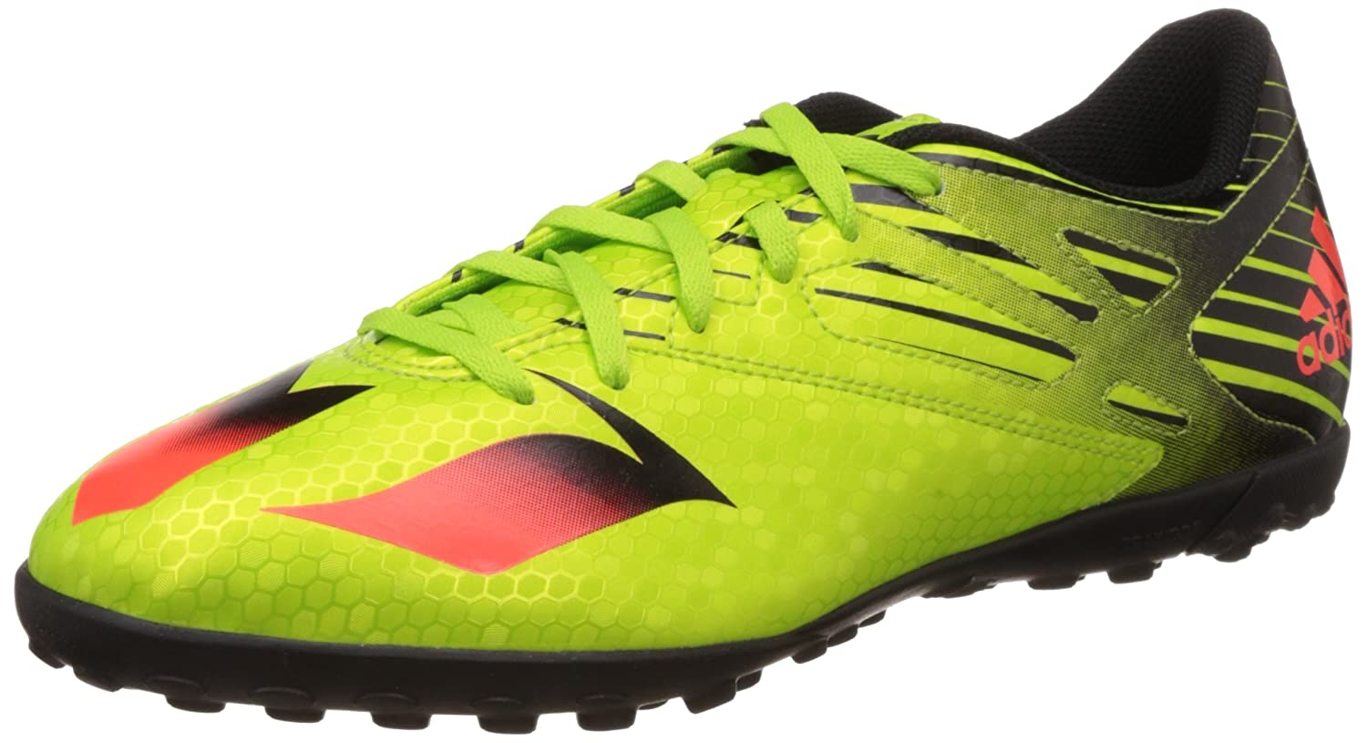 88c5ef766d3d Amazon.com: adidas Messi 15.4 TF Astro Turf Trainers - Green/Red: Shoes