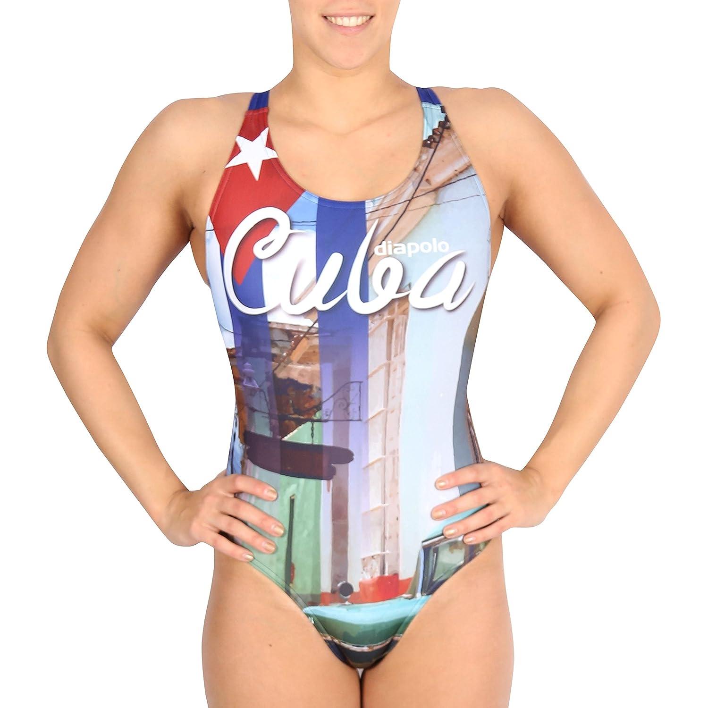 Diapolo Cuba Badeanzug für Schwimmen Synchronschwimmen Wasserball Thriathlon