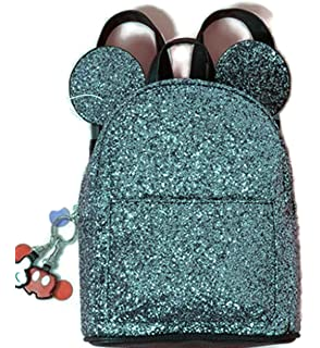 5975afee07 Disney Mickey Minnie Mouse Ears Rucksack Backpack Carry Bag Christmas Gift