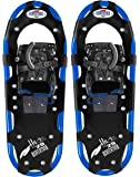 RedFeather Men's HIKE Recreational Series Snowshoes with SV2 Bindings - 1500