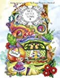 Nice Little Town: Adult Coloring Book (Stress Relieving Coloring Pages, Coloring Book for Relaxation): Volume 4