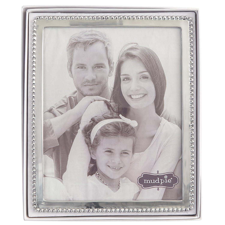 Amazon.de: Mud Pie Perlen Rahmen Foto, 20, 3 x 25, 4 cm