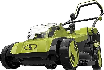 Sun Joe 24V-X2-17LM-CT Mulching Lawn Mower w/Grass Catcher, Tool Only