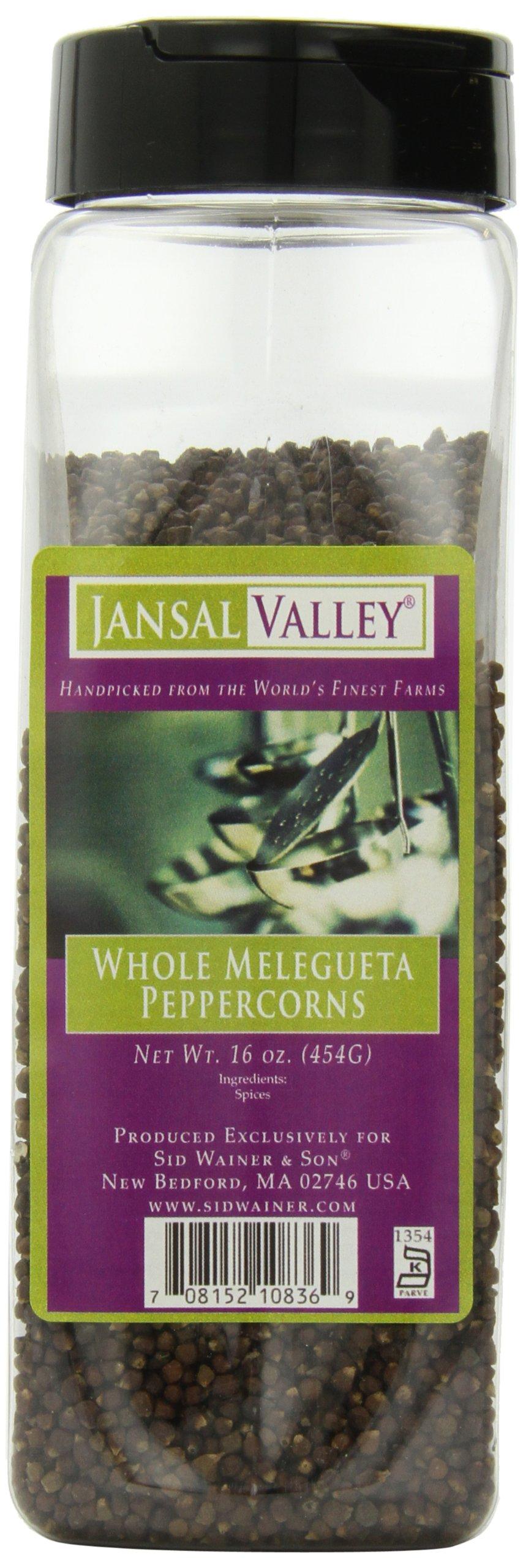 Jansal Valley Whole Peppercorns, Melegueta 16 Ounce