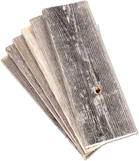 Amazon Com Rustic Farmhouse Reclaimed Barn Wood Bundle 12 Inch Wood Plank Wall Panels Remodeling Weathered Diy Repurposed Decoration Shiplap Craft Wood Pack Of 6 Planks Arts Crafts Sewing