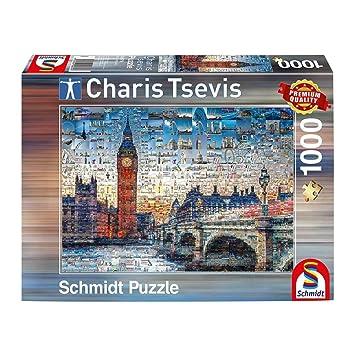 Puzzles Puzzle Charis Tsevis 1000 Teile Spiel Deutsch 2017 Berlin Geduldspiel