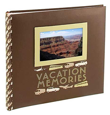Malden 2 Up Vacation Memories Photo Album 4 Inch By 6