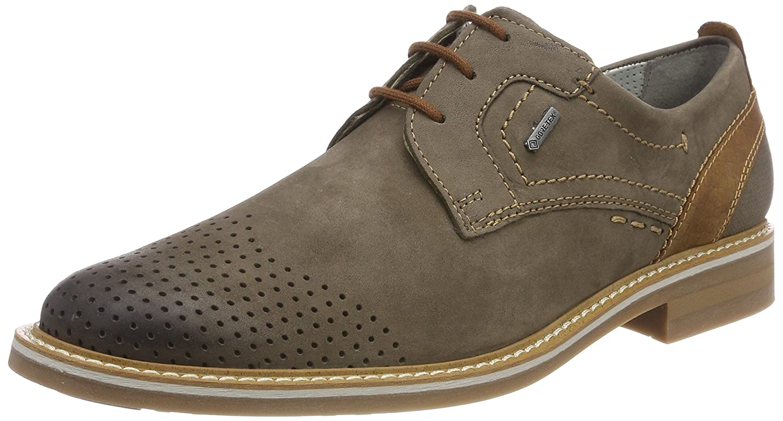 TALLA 40 EU (fabricante:6.5). FRETZ men Locarno, Zapatos de Cordones Derby para Hombre