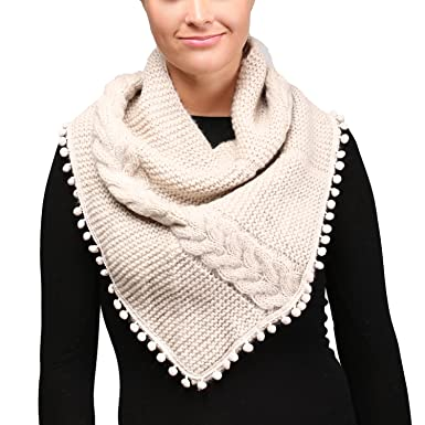 Apparelism Womens Chunky Knitted Loop Tube Infinity Collar Scarf