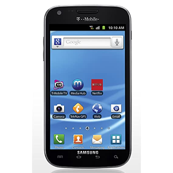 Samsung Galaxy S2 T989 16GB T-Mobile + GSM Android Smartphone w/ 8MP Camera  - Black - Tmobile - No Warranty