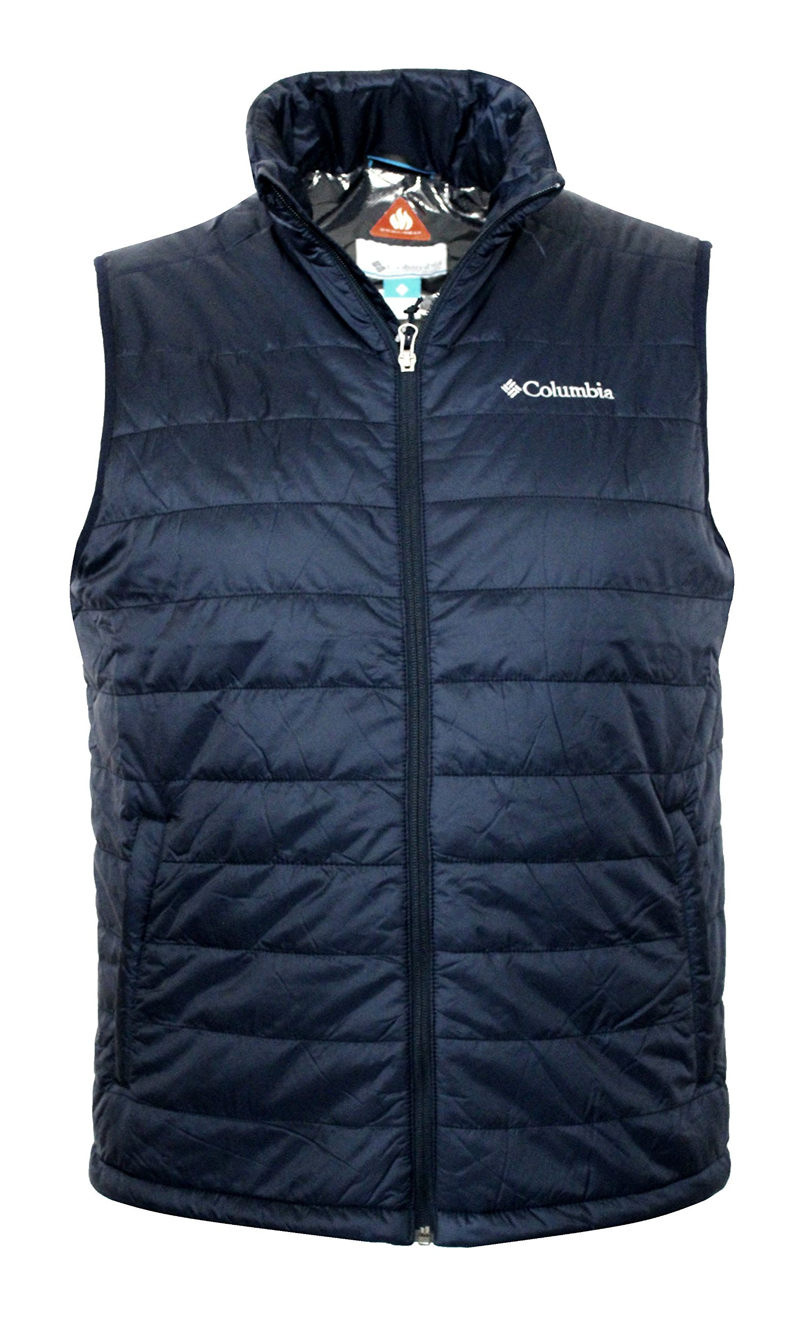 Columbia Crested Butte II OMNI HEAT Mens Vest, NAVY (M) by Columbia