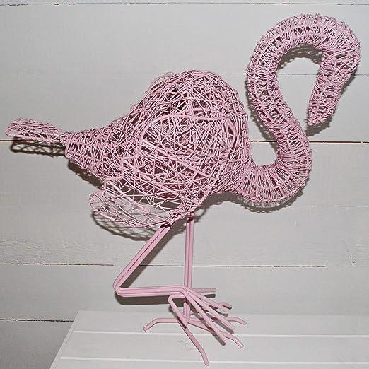 Grand jardin Flamingo Metal Sculpture Ornement Maison /& Jardin /& Patio Extérieur