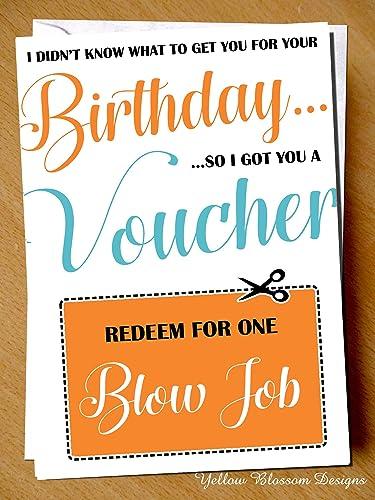card Blow job greeting