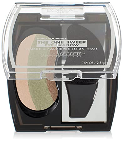 L'Oreal Paris Studio Secrets Professional The One Sweep Eye Shadow, Playful  for Green Eyes, 0 09 Ounces