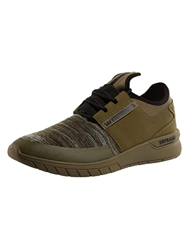 387a6e7f9c52 Supra Mens Flow Run Olive Multi Olive Shoes Size 7