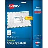 Avery Shipping Labels for Inkjet Printers, 3.5 x 5 Inches, Box of 100 (8168)