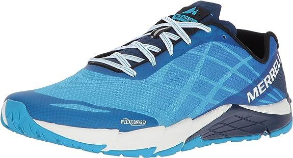 Merrell Bare Access Flex, Zapatillas de Running para Hombre, Gris (Cyan), 41.5 EU: Amazon.es: Zapatos y complementos
