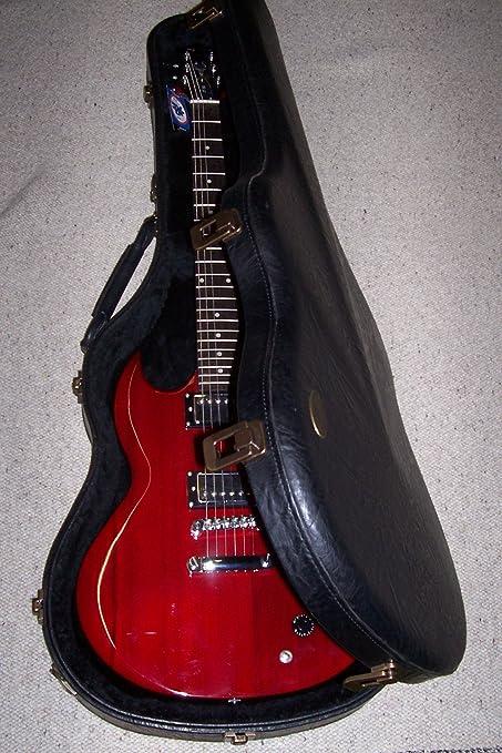 Estuche Funda Gibson guitarra eléctrica Diabla VGV Made in Italy: Amazon.es: Instrumentos musicales