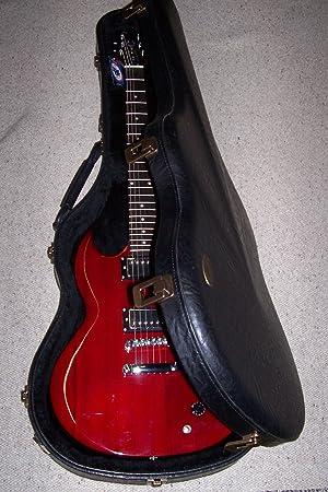 Estuche Funda Gibson guitarra eléctrica Diabla VGV Made in Italy