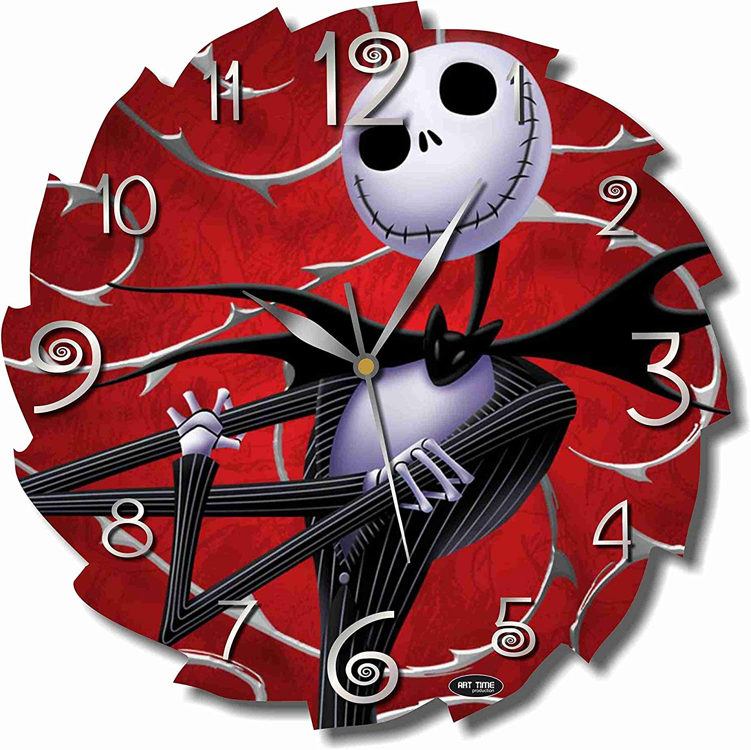 A picture of the nightmare before christmas clock to better elaborate Cartoon Clocks: some of the most intriguing 2020