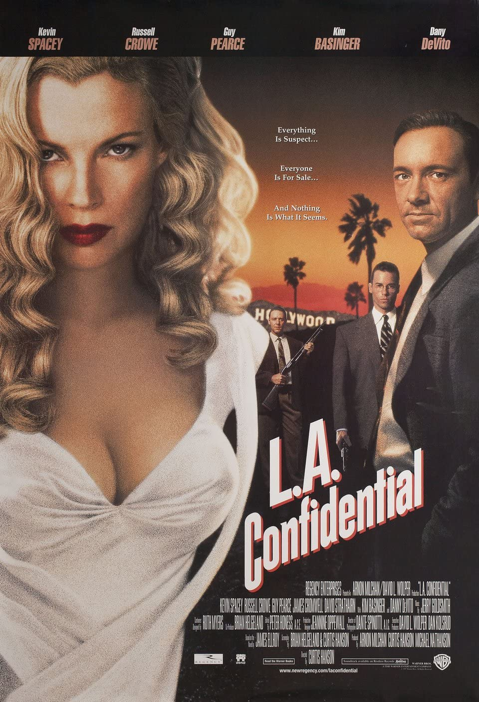 L.A. Confidential 1997 U.S. One Sheet Poster at Amazon's Entertainment  Collectibles Store
