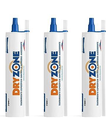 Dryzone Crema Contra la Humedad 3 x 310ml - Crema de Inyección Contra la Humedad para