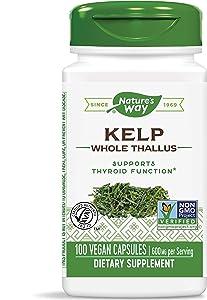 Nature's Way Kelp Capsules, 100 Count